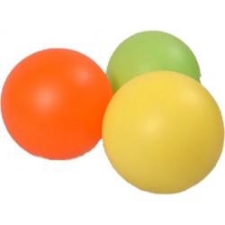 Мяч однотонный, 17 см