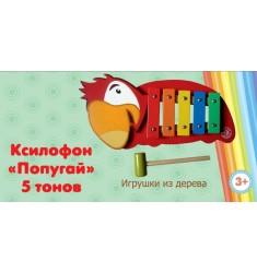 "Ксилофон ""Попугай"" 5 тонов"