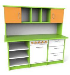 Стеллаж - кухня детский игровой