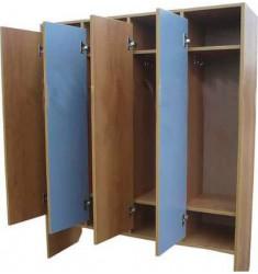 Шкаф для детской одежды 2-местный