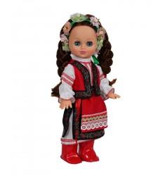 Элла Весна в украинском костюме со звуковым устройством