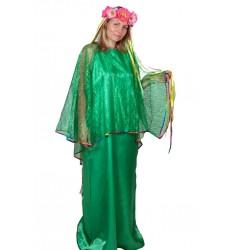 Карнавальный костюм для взрослых Лето (женский) платье + головной убор