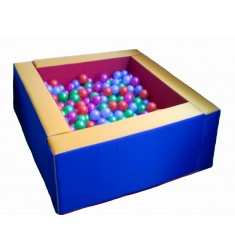 """Сухой бассейн """"Макси"""" (квадратный разборный на 500 шаров)"""