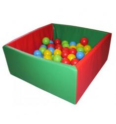 """Сухой бассейн """"Мини"""" (квадратный 100 шаров в комплекте), оксфорд"""
