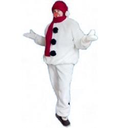 Карнавальный костюм для взрослых Снеговик