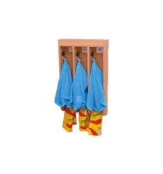 Вешалка для полотенец с тремя крючками