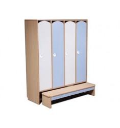 Комплект мебели для детского гардероба ДГСк-01 четырехместный