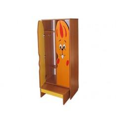 Комплект мебели для детского гардероба ДГСк-01-Зай двухместный
