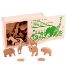 Играем в зоопарк :объёмные фигуры