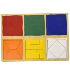 Сложи квадрат 2й уровень