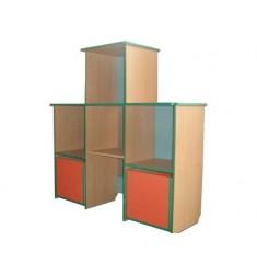 """Шкаф для пособий и игрушек """"Пирамида малая №1"""""""