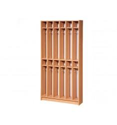 Шкаф-вешалка для полотенец двухуровневая