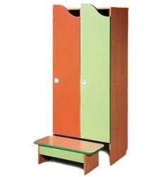 """Комплект мебели для детского гардероба двухместный """"Волна"""""""