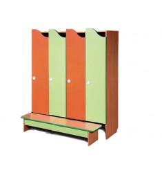 """Комплект мебели для детского гардероба четырехместный """"Волна"""""""