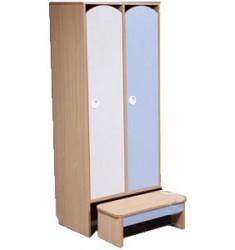 Комплект мебели для детского гардероба ДГСк-01 двухместный