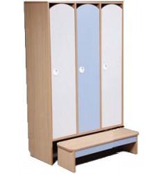 Комплект мебели для детского гардероба ДГСк-01 трехместный