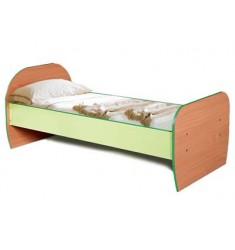 Кровать детская КРОД-01 цветная с матрацем (1400*600)