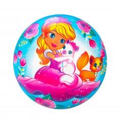 """Мяч """"Принцесса и лошадь"""", 23 см"""