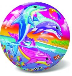 """Мяч """"Счастливые Дельфины"""", 23 см"""