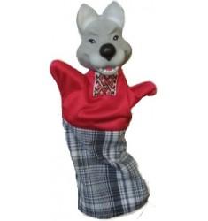 Кукла Бибабо Волк, Игрушка из ПВХ
