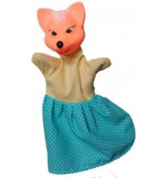 Кукла Бибабо Лиса, Игрушка из ПВХ