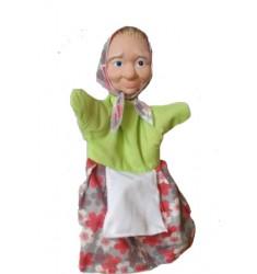 Кукла Бибабо Бабка, Игрушка из ПВХ