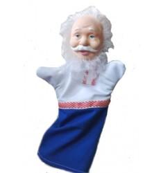 Кукла Бибабо Дед, Игрушка из ПВХ
