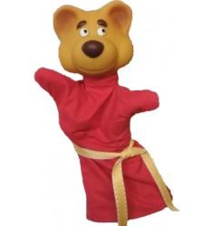 Кукла Бибабо Медведь, Игрушка из ПВХ