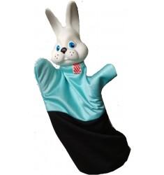 Кукла Бибабо Заяц, Игрушка из ПВХ