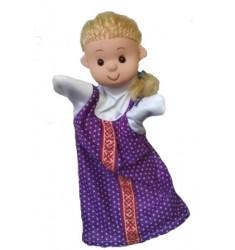 Кукла Бибабо Маша, Игрушка из ПВХ