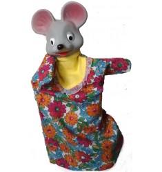 Кукла Бибабо Мышка, Игрушка из ПВХ