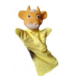 Кукла Бибабо Бычок, Игрушка из ПВХ