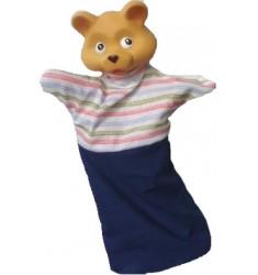 Кукла Бибабо Медвежонок, Игрушка из ПВХ