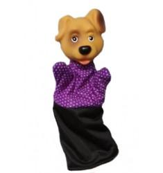 Кукла Бибабо Собака, Игрушка из ПВХ