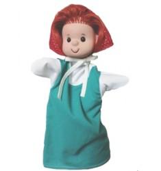 Кукла Бибабо Красная шапочка, Игрушка из ПВХ
