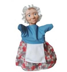 Кукла Бибабо Бабуля, Игрушка из ПВХ