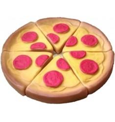 Набор пицца маленькая (6 предметов), Игрушка из ПВХ пластизоля