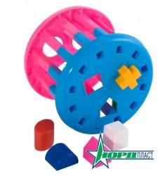 Дидактическая игрушка Карусель(в сетке)