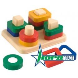 Дидактическая игрушка Веселые фигурки