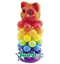 Пирамидка-звездочка Кот