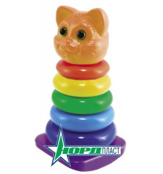 Пирамидка-качалка Кот
