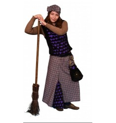 Карнавальный костюм для взрослых Баба Яга