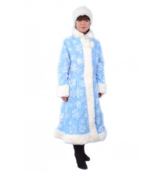 Карнавальный костюм для взрослых Снегурочка