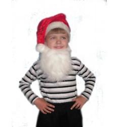 Детский карнавальный костюм Колпачок с бородой