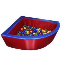 """Сухой бассейн """"Макси"""" (угловой на 800 шаров)"""