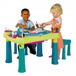 Столик для творчества с двумя стульями / Creative Table