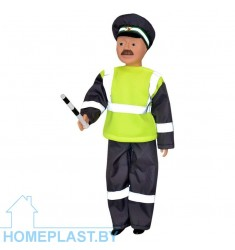 Кукла Борис-инспектор ДПС
