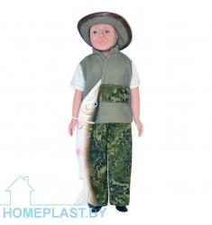 Кукла Борис-рыбак 1 (в индивидуальной упаковке-туба)