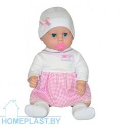 Кукла Вита 1 с пустышкой озвученная (в индивидуальной упаковке)
