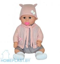 Кукла Вита 2 с пустышкой озвученная (в индивидуальной упаковке)